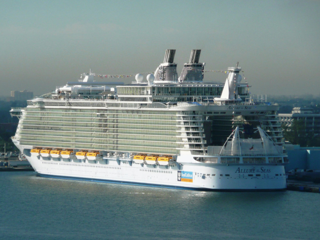 Allure of the Seas in Fort Lauderdale