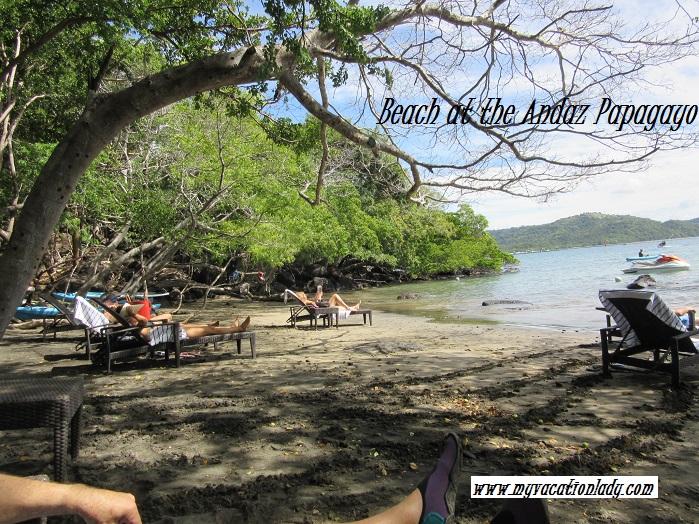Beach at the Andaz Peninsula Papagayo
