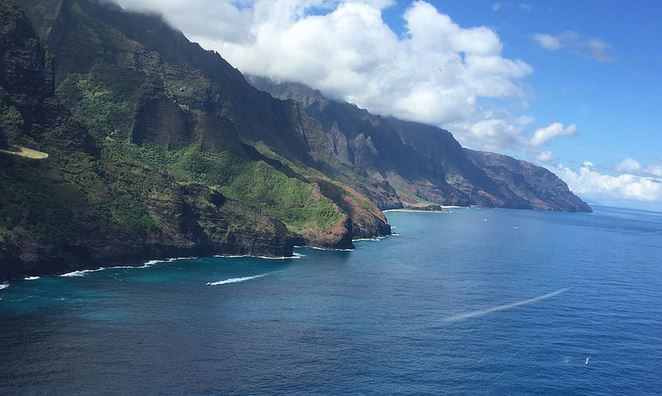 Napali Coast from the Helicopter