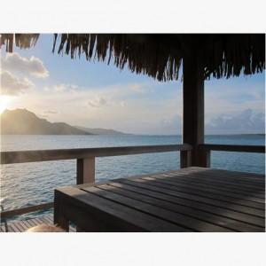 St Regis Bora Bora-view from OTW bungalow