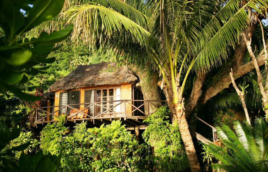 Tree House Bures at Matangi Beach Resort