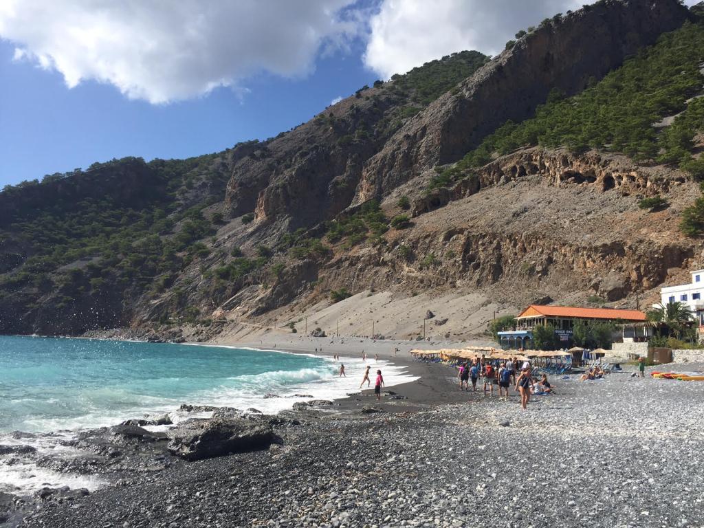 Beach at Samaria Gorge, Crete