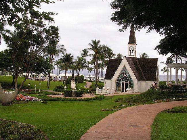 Grand Wailea Wedding Chapel