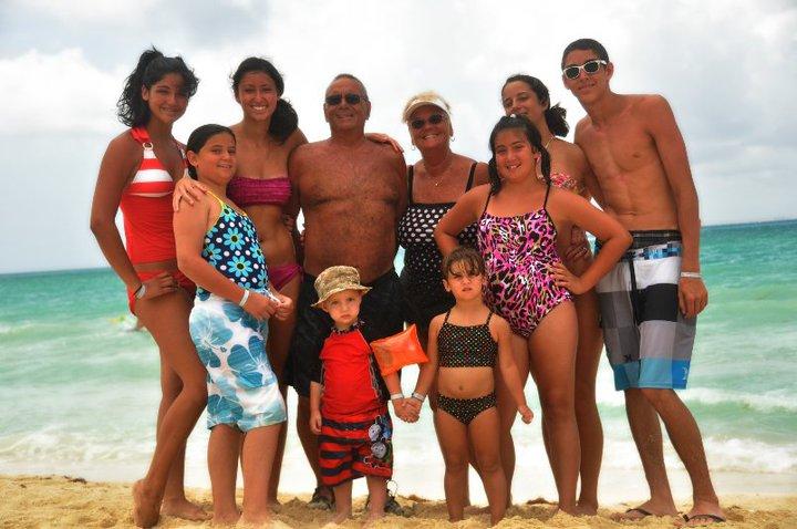 Family celebration in Mexico