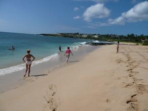 mindy walking shipwreck beach-reduced
