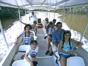 River Safari at Manuel Antonio