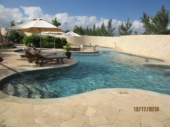 Hydrotherapy Circuit at Secrets Playa Mujeres