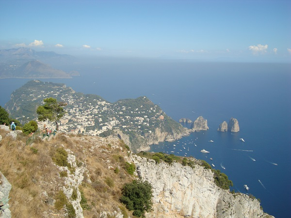 View from the top of Anacapri