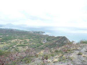 View from the top of Diamond Head