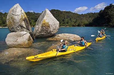 Abel Tasman National Park- photo credit Ian Trafford