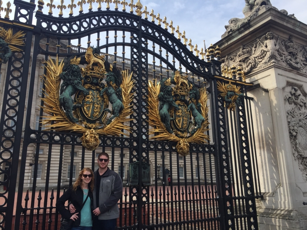 Buckingham Palace- Todd & Jess
