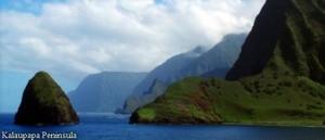 Kalaupapa Peninsula Molokai
