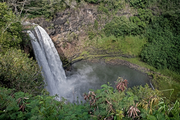 Wailua Falls- photo credit KL Kohn
