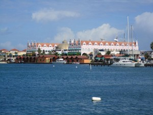 aruba from water