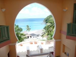 View from the spa at The Body Holiday, Saint Lucia