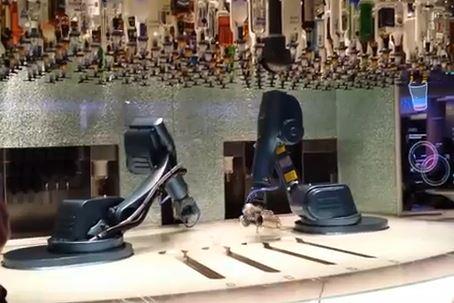 bionic bartenders