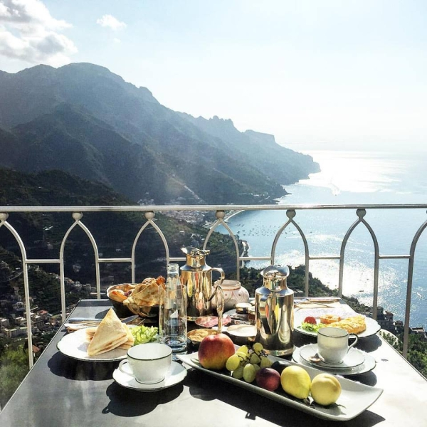 Breakfast in Ravello