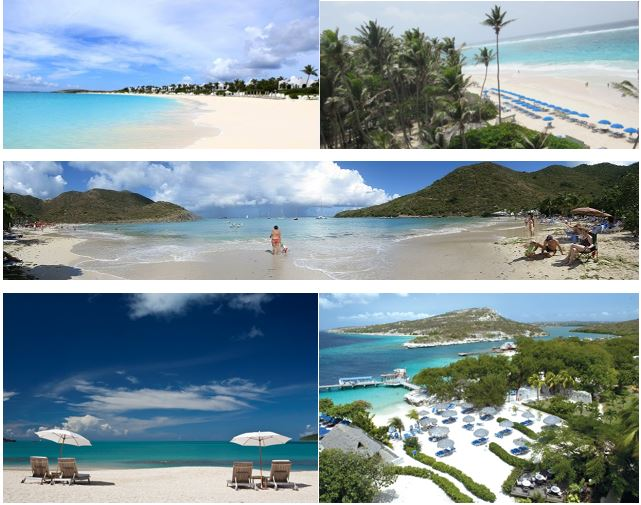 caribbean-beach-collage