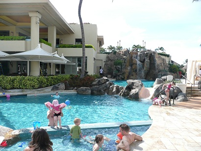 Kids pool at the Four Seasons
