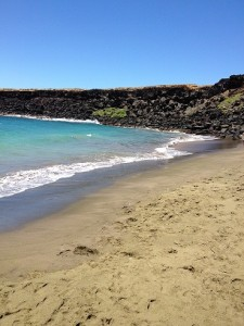Papakolea Beach on the Big Island