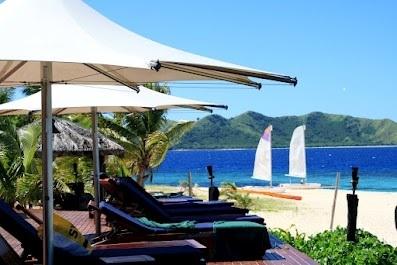 matamanoa beach view