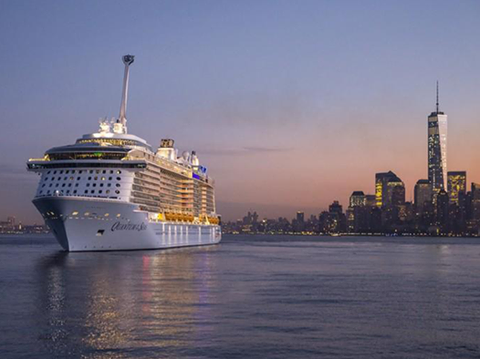 Royal Caribbean Quantum of the Seas arrives in the NY/NJ area!