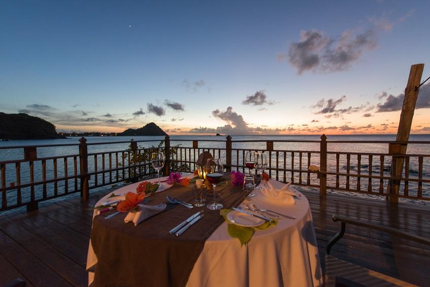Romantic dinner at Cap