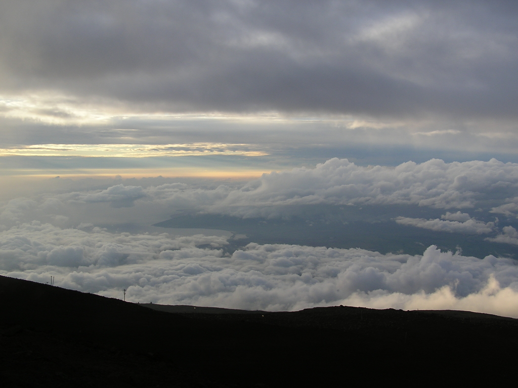 Sunset over Haleakala