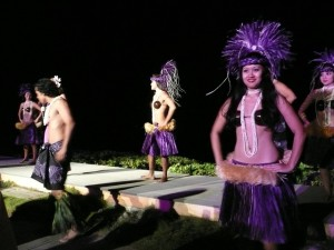 Feast of Lele- Tahitian dancers