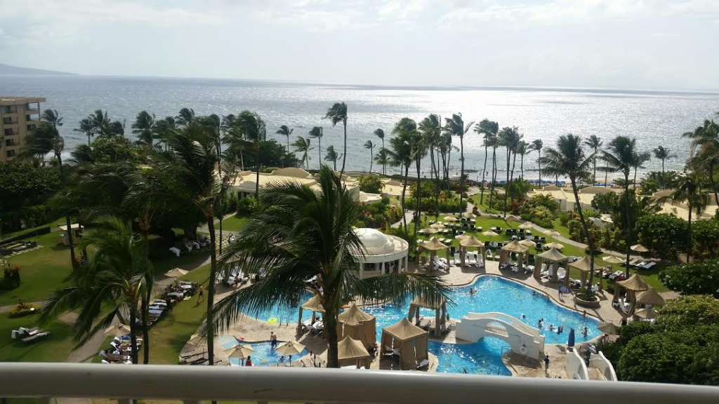 view from the room- kea lani