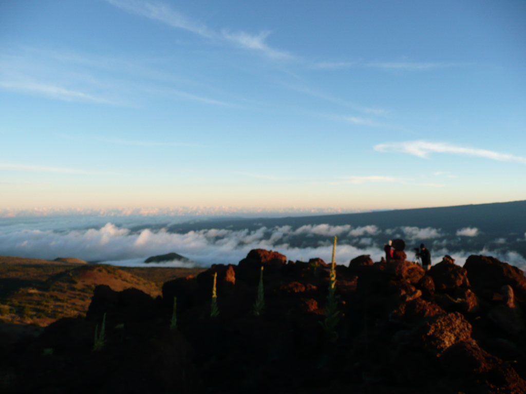 view from the Mauna Kea